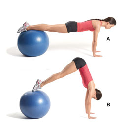 Stability Ball, Blue