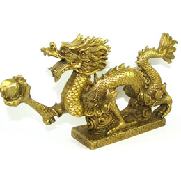 Golden Dragon Gasping Ball