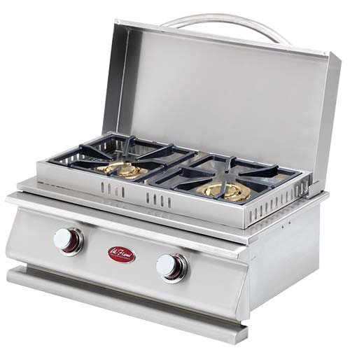Deluxe Double Side By Side Burner