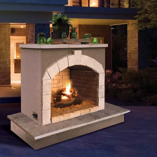 Fireplace FRP906-3,Wrapped Bottom Mantel