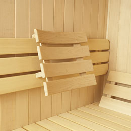 Sauna Back & Head Rest