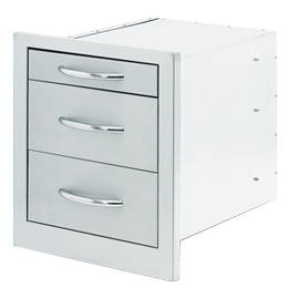 Drawers Storage 3 Wide