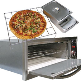Warmer and Pizza oven
