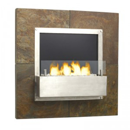 Ethanol Wall Fireplace (Or 424.00$ Cash)