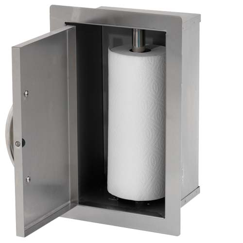 Paper Towel Storage Door