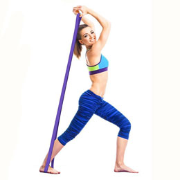 Resistance Pull Up Band, Purple