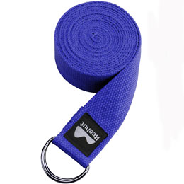 Yoga Strap Blue 8FT