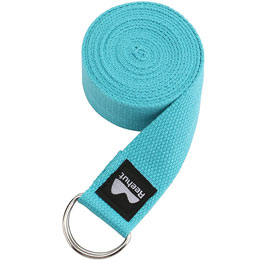 Yoga Strap Sky Blue 6 FT